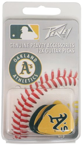 Oakland A'S Mlb Guitar Pick Pack By Peavey