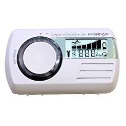 Fireangel Digital Carbon Monoxide Alarm LCD Detector Caravan Thermometer CO-9D from Fire Angel