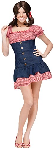 Gilligan's Island Mary Ann Adult Costume Size:Small/Medium