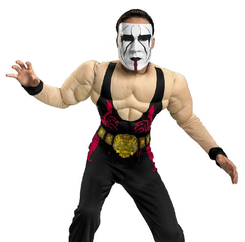 Child Sting Wrestler Costume