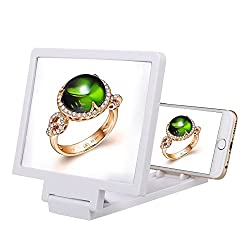 3D MOBILE PHONE SCREEN ENLARGER MAGNIFIER VIDEO AMPLIFIER WITH STAND HOLDER FOR ALL IPHONE SAMSUNG ANDROID SMART PHONES