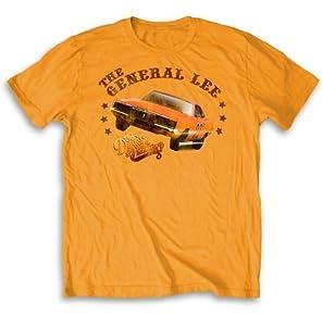 Dukes of Hazzard General Lee Light Orange T-shirt