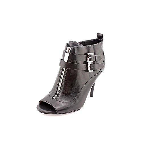 Michael Kors Brena Open Toe Womens Size 9 Black Fashion Ankle Boots