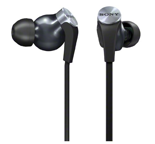 Sturdy Sony Bass in ear headphones under 100 big bass and look big too