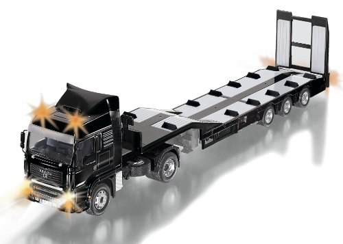 Siku 1:32 R/C Man Low Loader Truck (Bs Plug)