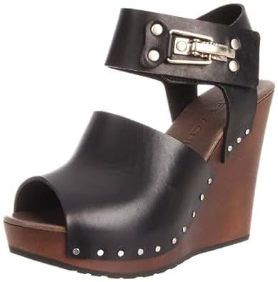 See By Chloe Women's Studded Open-Toe Clog,Black,35 EU/5 M US