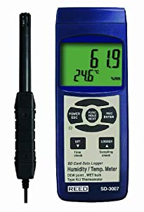 Reed Instruments SD-3007 Thermo-Hygrometer Data Logger