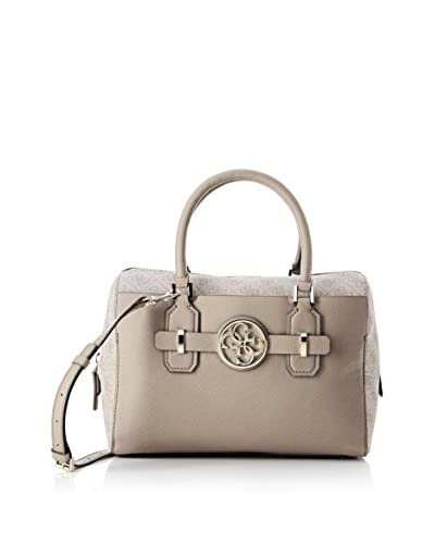 Guess Borsa A Mano Katlin Box Satchel [Antracite/Nero]