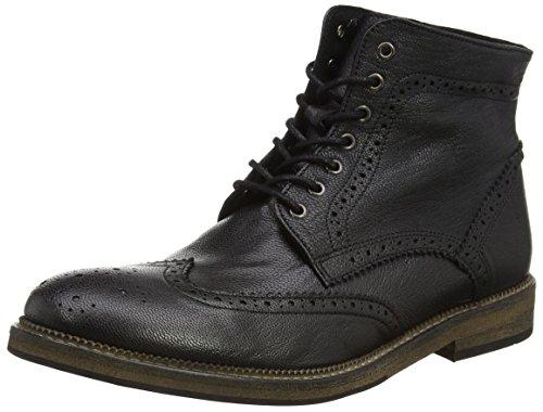 Selected Shchristoph Leather Boot I, Scarpe da barca uomo, Nero (Nero (nero)), 41
