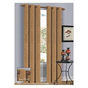 Amazon.com - Duck River Textile Saratoga 42 by 84-Inch Grommeted