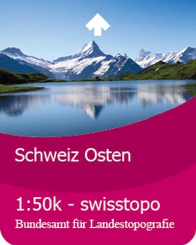 Satmap Carte de Suisse, est 1:50000 Pour système GPS Active 10 Langue allemande