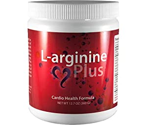 L-arginine Plus, Cardio Health Formula - 5,000mg L-arginine & 1,000mg L-citrulline per serving 12.7oz