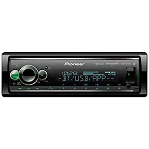 Pioneer MVH-S720BHS Short Chassis Digital Media Receiver with Enhanced Audio Functions, Smart Sync App Compatibility, MIXTRAX, Built-in Bluetooth, HD Radio and SiriusXM-Ready (Color: Black)