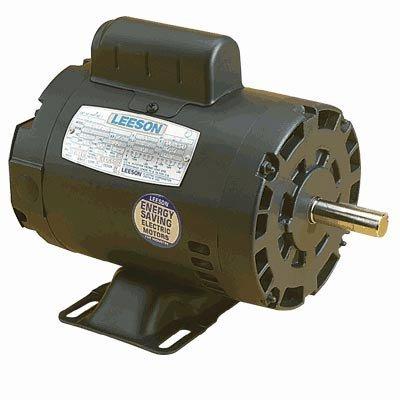 Leeson Reversible Electric Motor - 3 4 HP 1725 RPM Model 100003B0000AXDQR : image