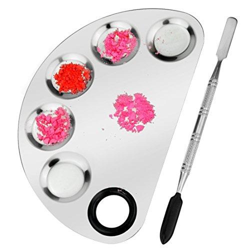 makeup-palette-spatula-tool-nail-art-manicure-artist-tool-sumersha-stainless-steel-cosmetic-palette-