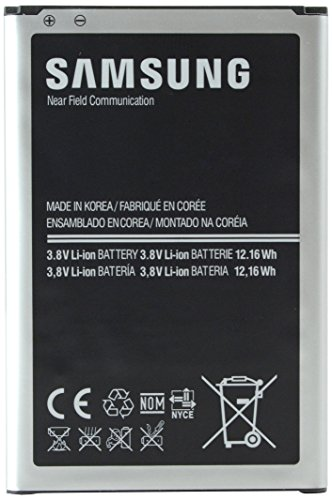 Samsung Galaxy Note 3 Standard Battery (3200mAh) NFC – Frustration-Free Packaging – Black
