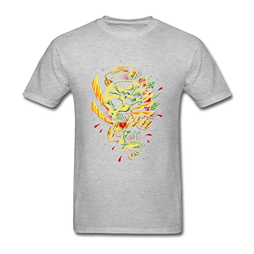 Nicesne Skull Roses And Ribbon Love T Shirt For Men (Megaman Drawing compare prices)
