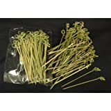 Bamboo Skewers, Twisted ends (#CMS1)