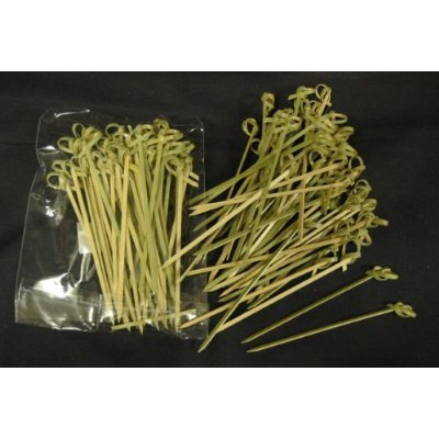 Best Buy! Bamboo Skewers, Twisted ends (#CMS1)