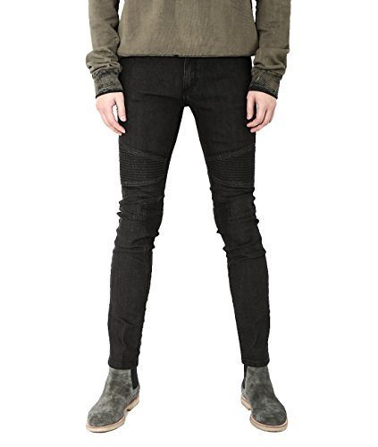 wiberlux-neil-barrett-mens-paneled-skinny-fit-jeans-32-black