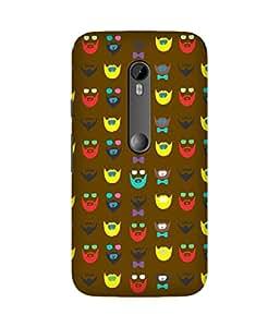 Beard-Colour-41 Motorola Moto X3 Case