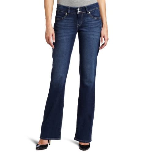 Levi's Women's 529 Styled Curvy Boot Cut Jean, Winding Road, 14 Medium