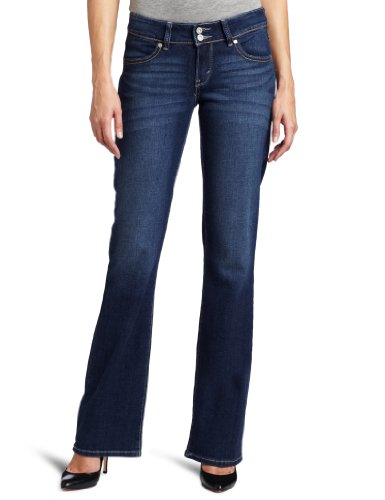Levi's Women's 529 Styled Curvy Boot Cut Jean, Winding Road, 4 Medium