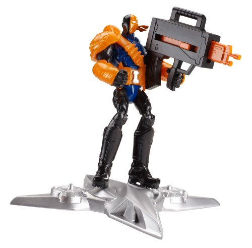 Batman Basic 4-Inch Sky Blade Deathstroke Figure - 1