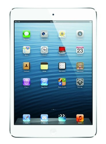 Portable, Apple iPad mini MD531LL/A (16GB, Wi-Fi, White / Silver) ItemShape: Wi-Fi Color: Silver Size: 16 GB Consumer Electronic Gadget Shop