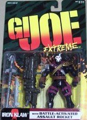 G I Joe Extreme Deluxe Iron Claw with Ultra Slam Firepower