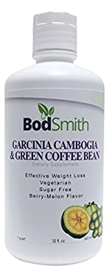 Liquid garcinia cambogia with green coffee bean extract - 32 oz - natural weight loss & appetite suppression supplement - faster absorption liquid garcinia with green coffee bean extract works for rapid natural weight loss. With this new formula you get t