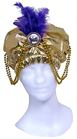 Jacobson Hat Company Women's Adult Metallic Arabian Prince Princess Hat