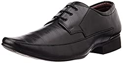 Bata Mens Frank Derby Black Formal Shoes - 7 UK/India (41 EU) (8216137)