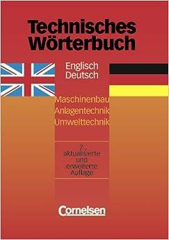 Technisches w rterbuch englisch deutsch english to for Dictionary englisch deutsch