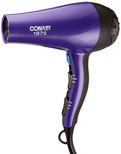 Conair 1875 Watt Thermal Shine Styler and Hair Dryer, Purple (Concentrator Conair compare prices)