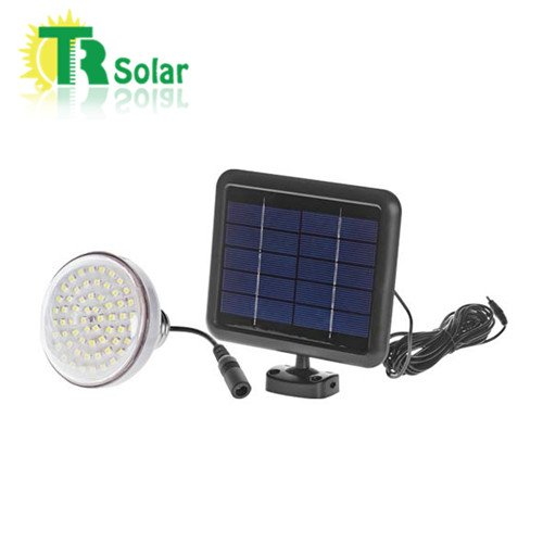 Solar Power Small System 2pcs/lot 2w Solar Panels 3w LED Bulbs 8 Hours Long Working Time Portable Built-in Battery Home Solar Power LED Lighting System Recharge Battery