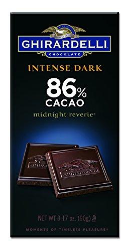 Ghirardelli Chocolate Intense Dark Bar, Midnight Reverie, 3.17 oz., 6 Count (Ghirardelli Bar compare prices)