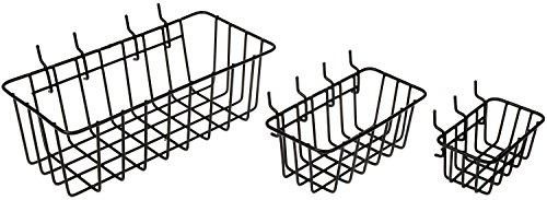 Dorman Peggable Wire Basket (Set of 3)