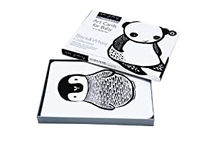 Wee Gallery Art Cards for Baby, Black and White Collection