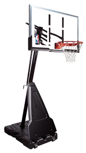 Spalding Portable Basketball System – 60″ Aluminum Trim Acrylic Backboard $449.99