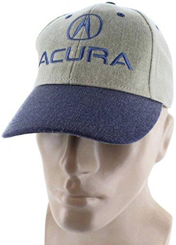 dantegts-acura-velcro-closure-blue-khaki-baseball-cap-trucker-hat-snapback-ilx-mdx-rdx