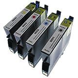 Compatible Epson Inkjet/Print Cartridge - T0556 Slimline Multipack (B/C/M/Y) 4x17mlby 7dayshop