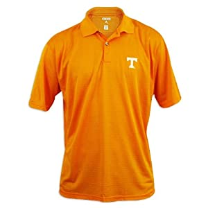 Tennessee Volunteers Mens Antigua Control Desert Dry Orange Polo by Antigua