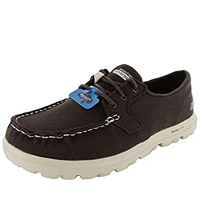 Skechers Mens 53563 On The Go Unite Casual Boat Shoes, Chocolate, US 11.5