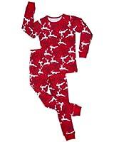 "Leveret ""Christmas"" 2 Piece Pajama Set 100% Cotton Variety of Styles (6M-5T)"