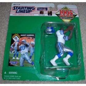 1995 Barry Sanders NFL Football Starting Lineup - 1