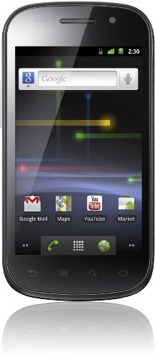 Samsung Nexus S i9023 Smartphone (10,16 cm (4 Zoll) Super Clear LCD Display, Touchscreen, Android 2.3, 5 Megapixel Kamera) weiß