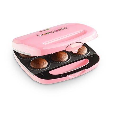 Babycakes Nonstick Coated Mini Cupcake Maker : Pink