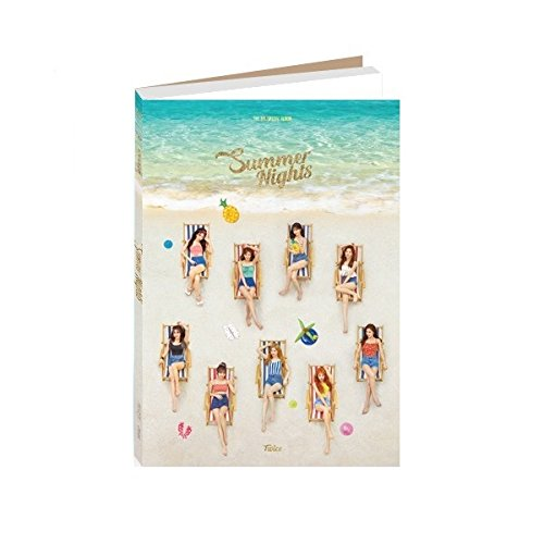 CD : JYP TWICE - Summer Nights [B ver.] (2nd Special Album)