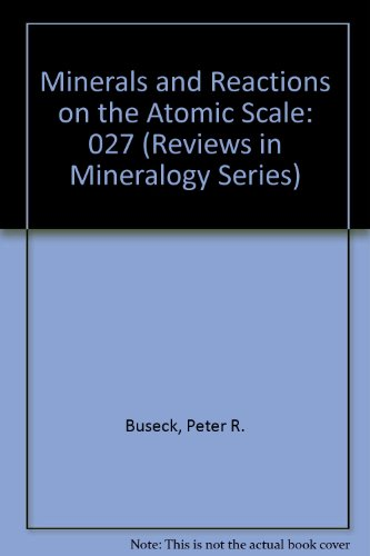 Minerals And Reactions At The Atomic Scale: Transmission Electron Microscopy (Reviews In Mineralogy Series Volume 27)